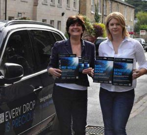 Jilly and Tamsin Launch Water Saving Business