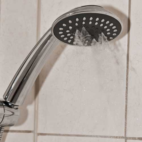 oval twist 3 spray shower head