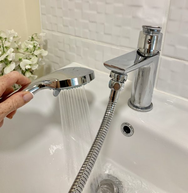best way to turn your tap into an instant shower and use your tap like normal